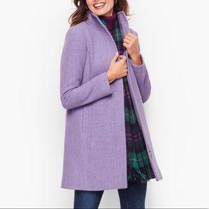 NEW Talbots Petite Albury Italian Wool Stadium Coat size 10P new with tags